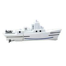 "Флешка Металлический Военный Корабль ""Warship"" R197 белый 16 Гб"