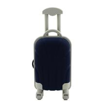 "Флешка Резиновая Чемодан ""Suitcase Travel"" Q318 синий 16 Гб"