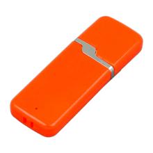 """Флешка Пластиковая Вентер """"Venter"""" S413 оранжевый 256 Гб"""