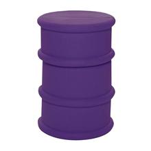 """Флешка Резиновая Бочка """"Barrel"""" Q428 фиолетовый 4 Гб"""