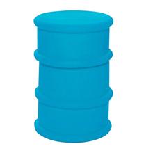 """Флешка Резиновая Бочка """"Barrel"""" Q428 голубой 4 Гб"""