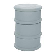 """Флешка Резиновая Бочка """"Barrel"""" Q428 серый 4 Гб"""