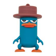 "Флешка Резиновая Перри Утконос ""Perry the Platypus"" Q454 синий 4 Гб"