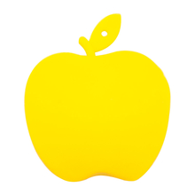 """Флешка Силиконовая Яблоко """"Apple"""" V464 желтый 4 Гб"""