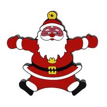 """Флешка Резиновая Дед Мороз """"Santa Claus"""" Gustavus Q279 красный 4 Гб"""