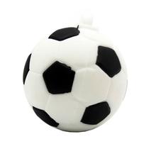 """Флешка Пластиковая Футбольный Мяч """"Soccer Ball"""" S140 белый 4 Гб"""